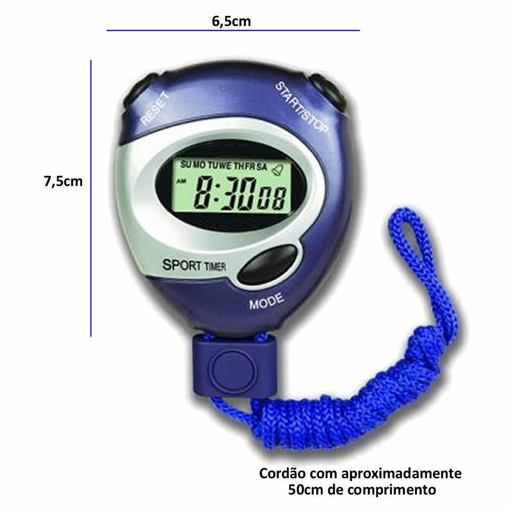 7c98cec8f3f Cronometro Progressivo Digital C  Alarme CBRN02825 - Commerce brasil R   18
