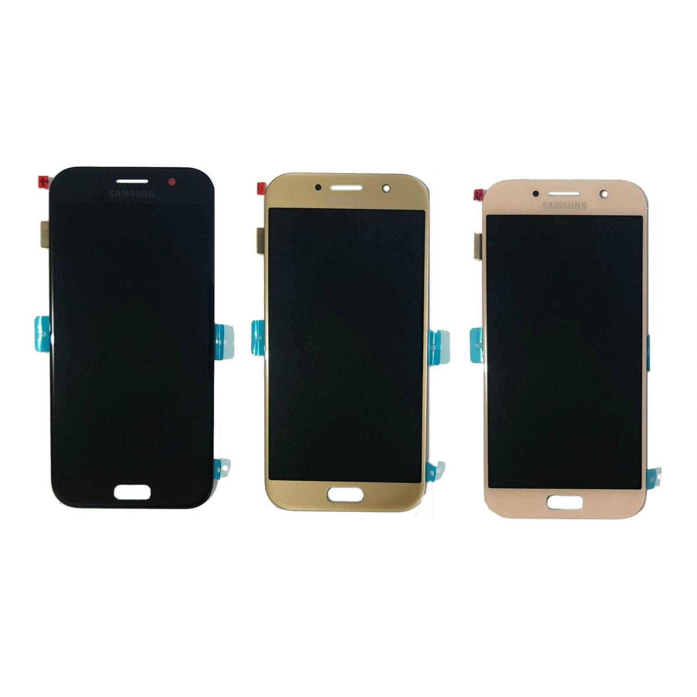 ecc32f4e1 Display Frontal A5 2017 A520 Original Nacional - Escolha Cor - Samsung R   555