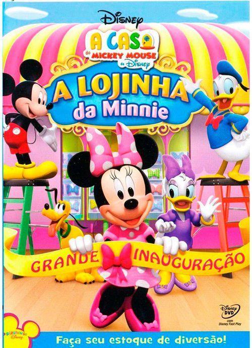 Dvd A Casa Do Mickey Mouse A Lojinha Da Minnie Disney