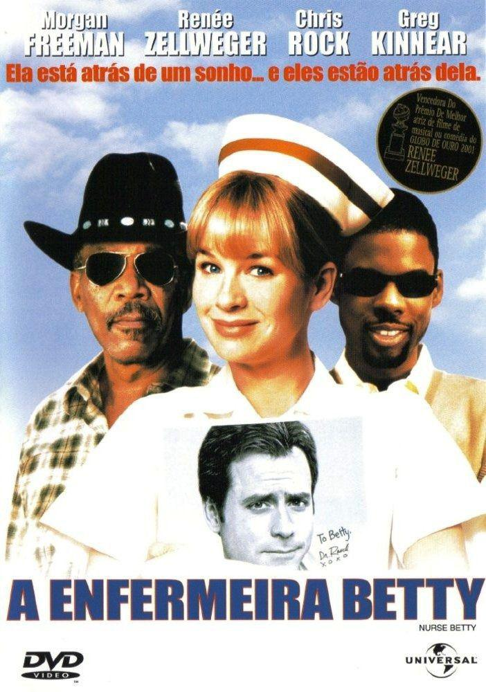Dvd A Enfermeira Betty - Renee Zellweger - Universal Pictures - Filmes de  Comédia - Magazine Luiza
