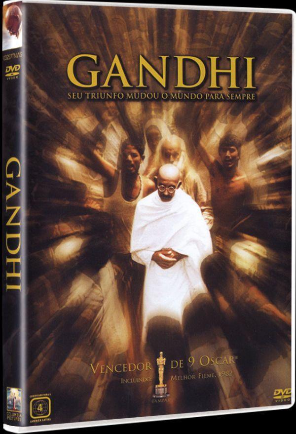 DVD Gandhi - Seu Triunfo Mudou o Mundo para Sempre - Sony - Filmes de Drama  - Magazine Luiza