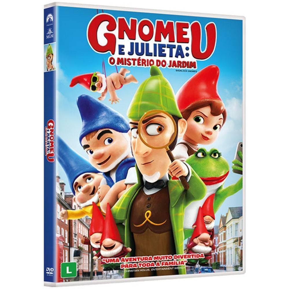 DVD Gnomeu e Julieta: O Mistério do Jardim - Outros - Filmes de ...