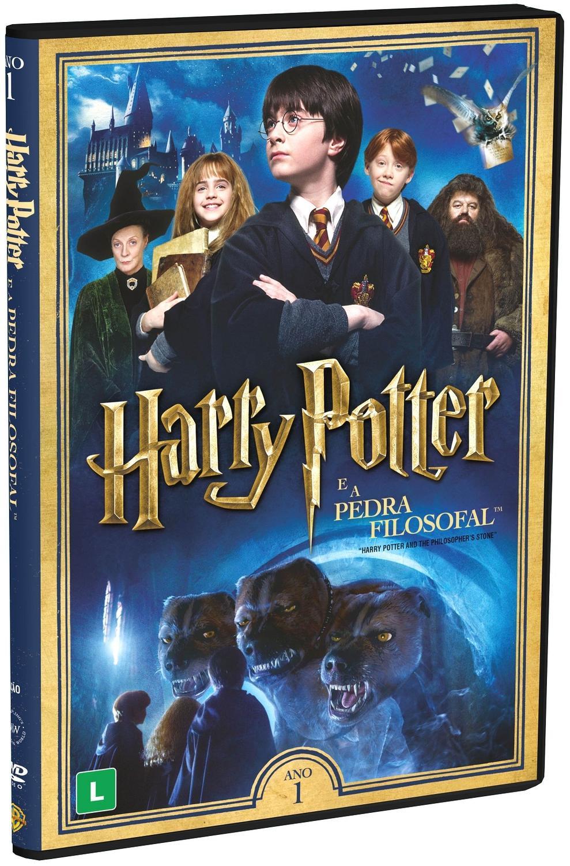Harry Potter É A Pedra Filosofal regarding dvd harry potter e a pedra filosofal (2 dvds) - 1 - filme e série