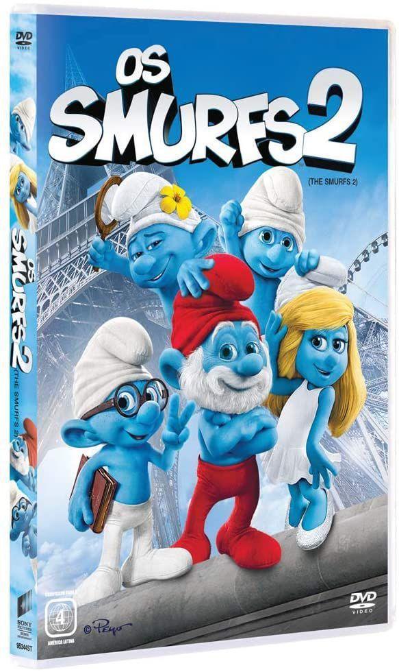 DVD Os Smurfs 2 (NOVO) - Sony - No Magalu - Magazine Luiza