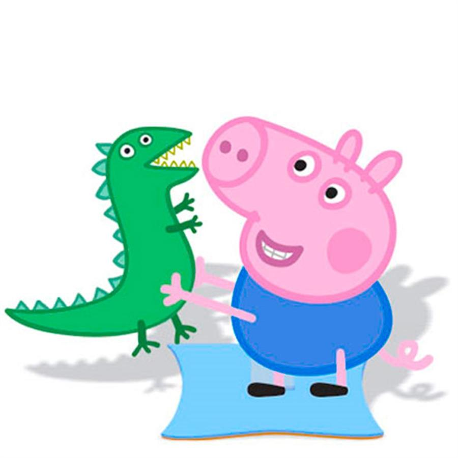 Enfeite De Mesa EVA George Pig Peppa Pig Piffer