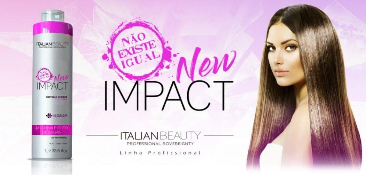 639bd068d Escova Progressiva Italian Beauty Profissional New Impact Zero Formol 2L  Produto não disponível