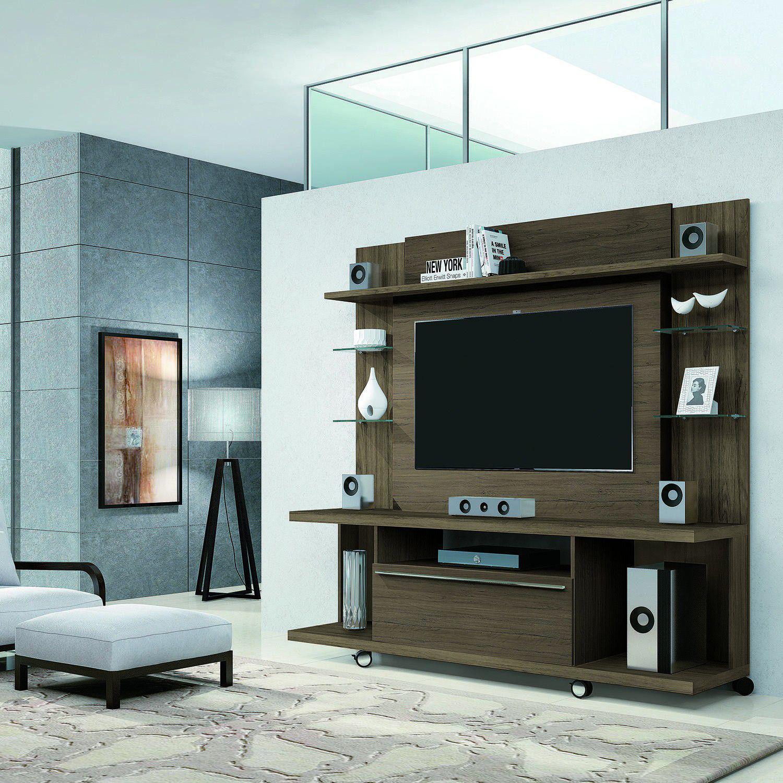 Porta Tv Torino.Estante Para Tv Ate 55 Polegadas 1 Porta New Torino Moveis