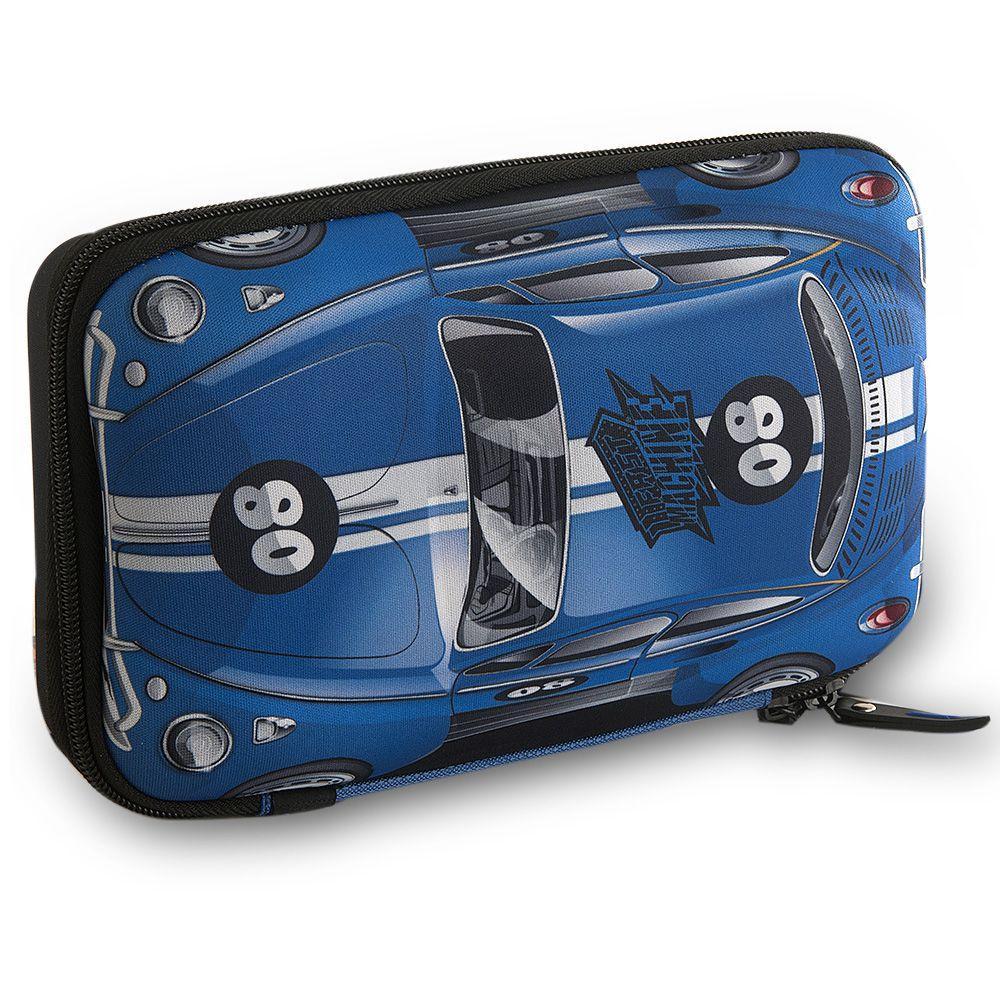 c376163a3 Estojo Escolar Infantil Fast Machine Azul FM9045E Clio Kids R$ 44,99 à  vista. Adicionar à sacola