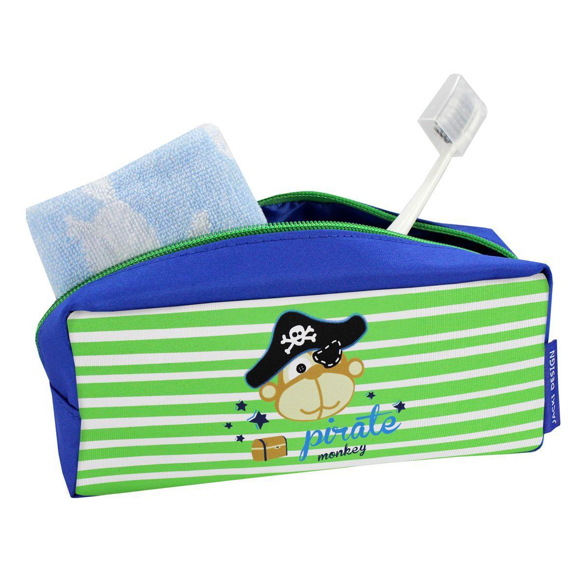 69ea14cd4 Estojo necessaire escolar infantil criança ziper menino jacki design pirata  R$ 21,38 à vista. Adicionar à sacola