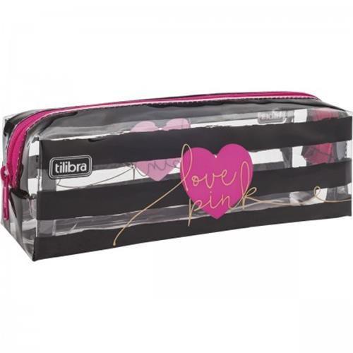 4c2d94c8f06 Estojo Tilibra Médio Love Pink - Estojo escolar - Magazine Luiza