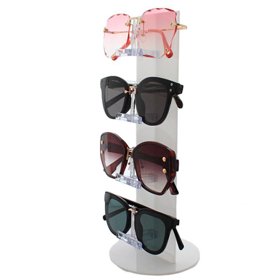b657d4c72 Expositor Torre para 4 Óculos em Plástico OTOR4 Branco - Zoke R$ 20,25 à  vista. Adicionar à sacola
