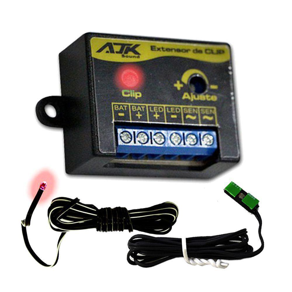Extensor De Clip Monitor Ajk Sound Universal + Sensor + Led - Caixa ... b0e6138839696