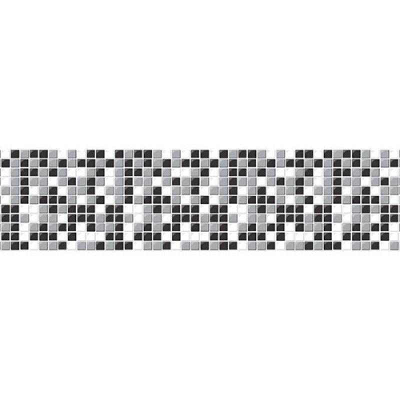 cab88fc70 Faixa decorativa - Border Pastilhas - 750 Preto - R+ adesivos R  70