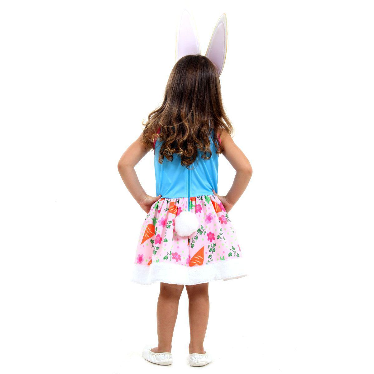 Fantasia Bree Bunny Infantil Coelha Enchantimals Fantasia