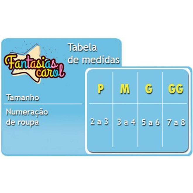 d524a19879dab Fantasia de Vaca Infantil Curta Com Gorro e Orelhas - Sulamericana R  76