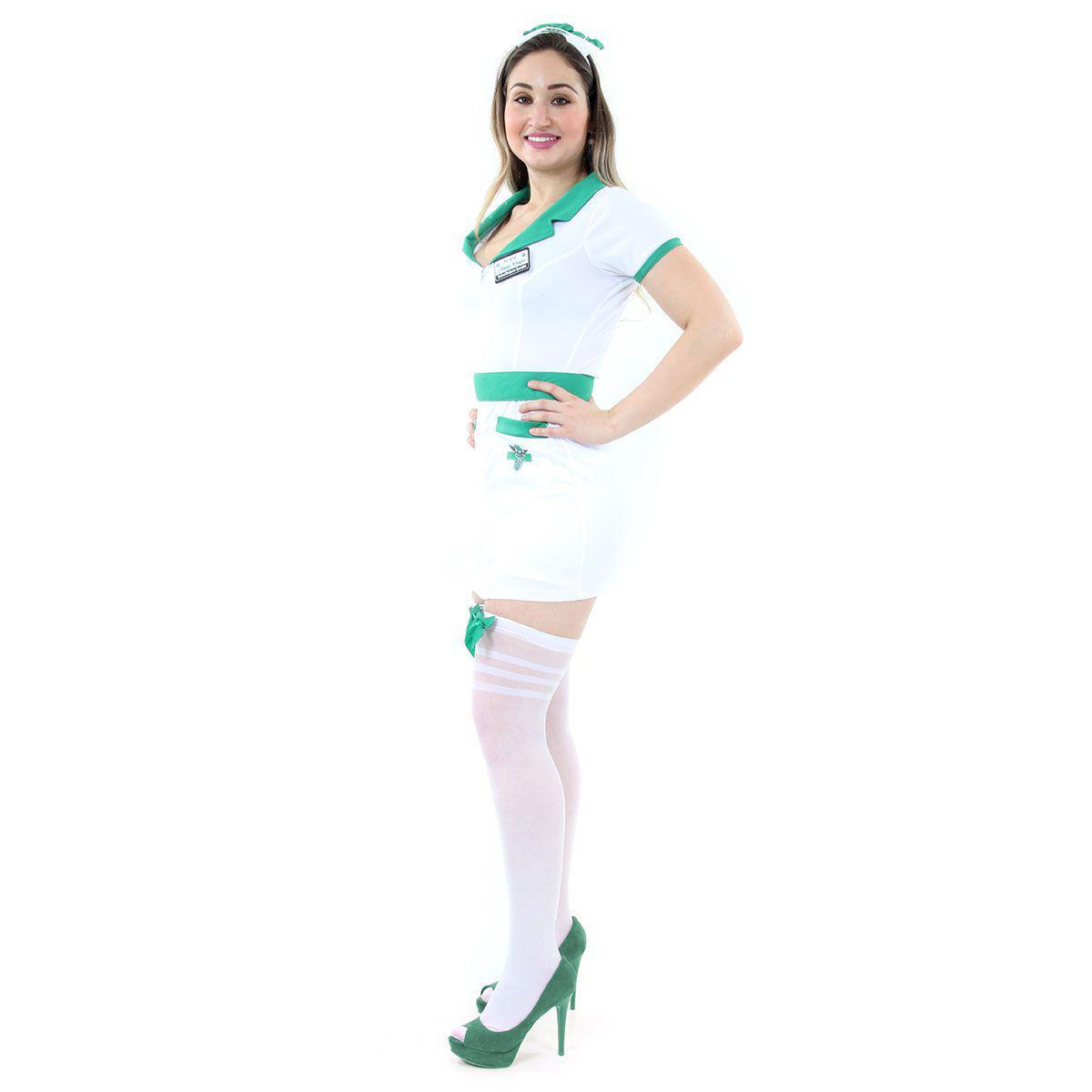 4b49c447140 Fantasia Enfermeira Adulto - Médico e cia - Fantasias - Magazine Luiza