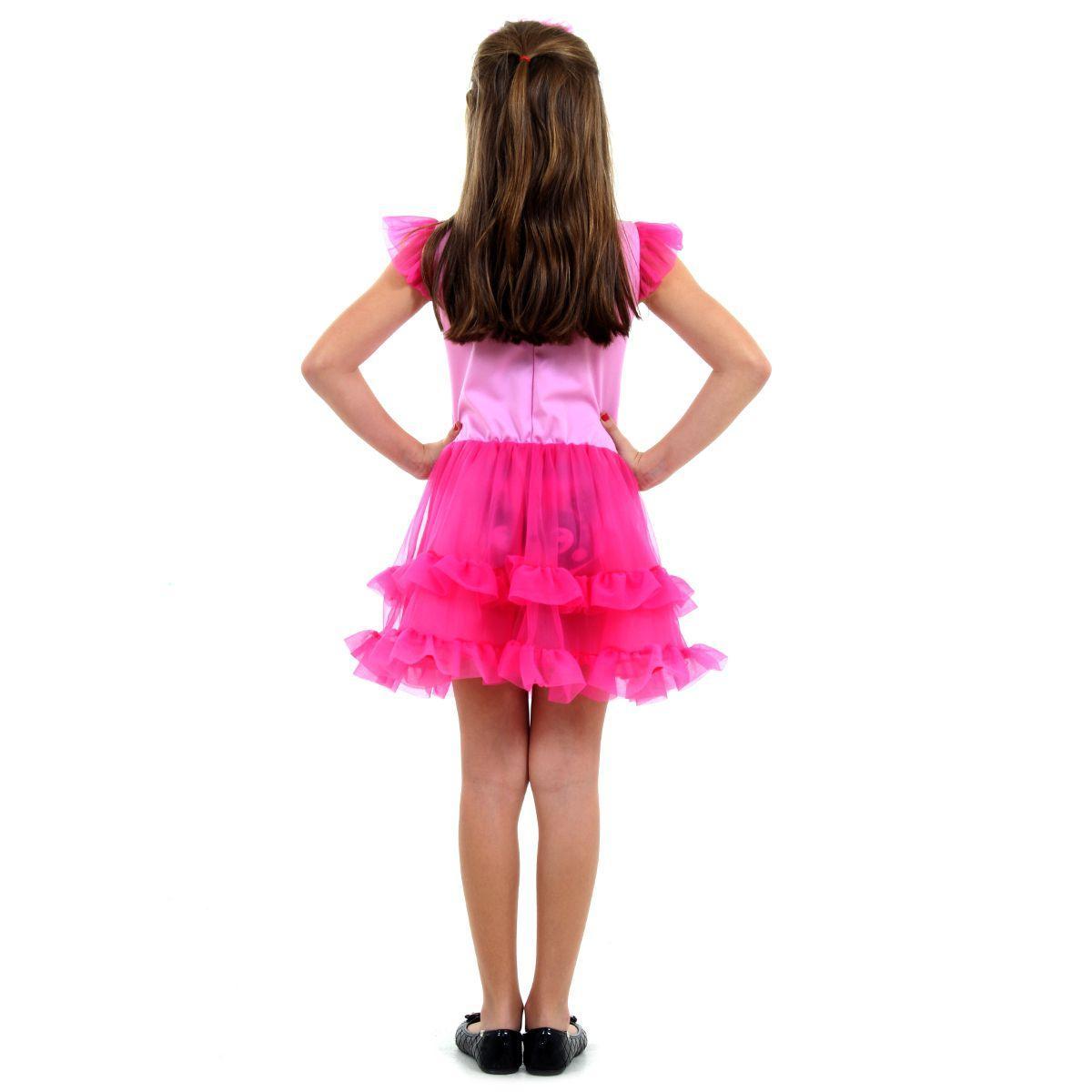 Fantasia Flamingo Infantil Faces Luxo Sula Arca De Noe Fantasias Para Criancas Magazine Luiza