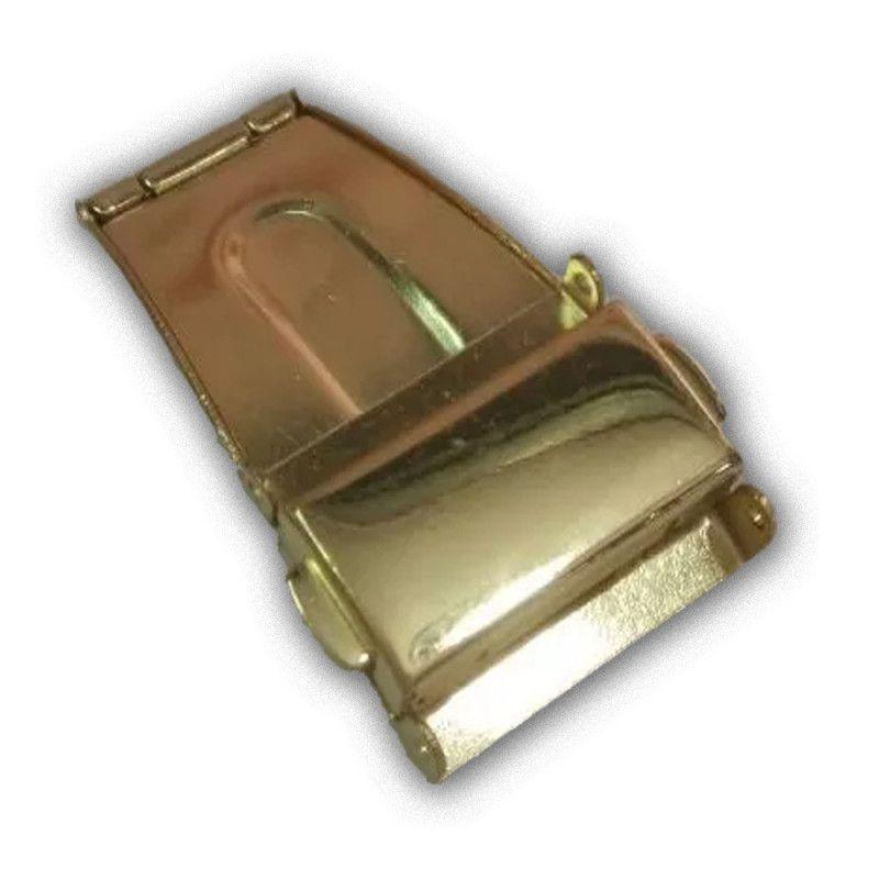 e886abe7c88 Fecho Tranca Dourado Compatível com Relógio Champion CN28679H 22mm -  Oficina dos relógios R  19