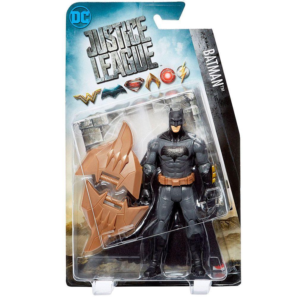 6a9963984fe6f Figura Articulada - 15 Cm - DC Comics - Liga da Justiça - Batman - Mattel  Produto não disponível