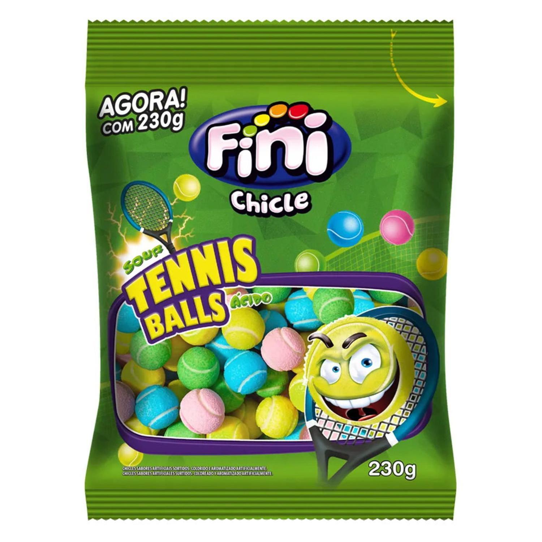 Fini Chicle Tennis Ball Chicletes E Gomas Magazine Luiza
