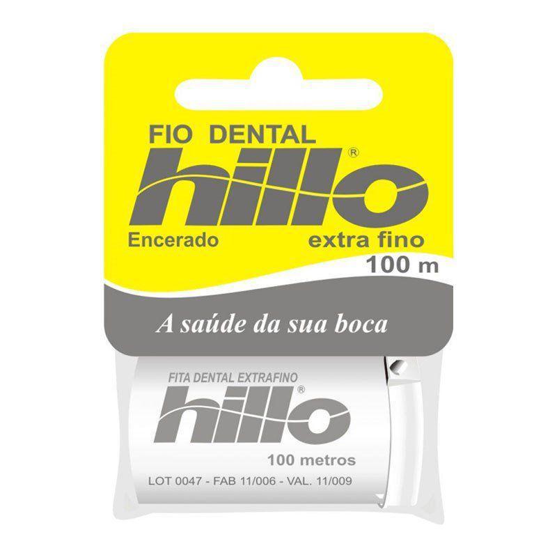 ffbebeca9 Fio Dental Hillo Extra Fino 100 Metros - Fio Dental - Magazine Luiza