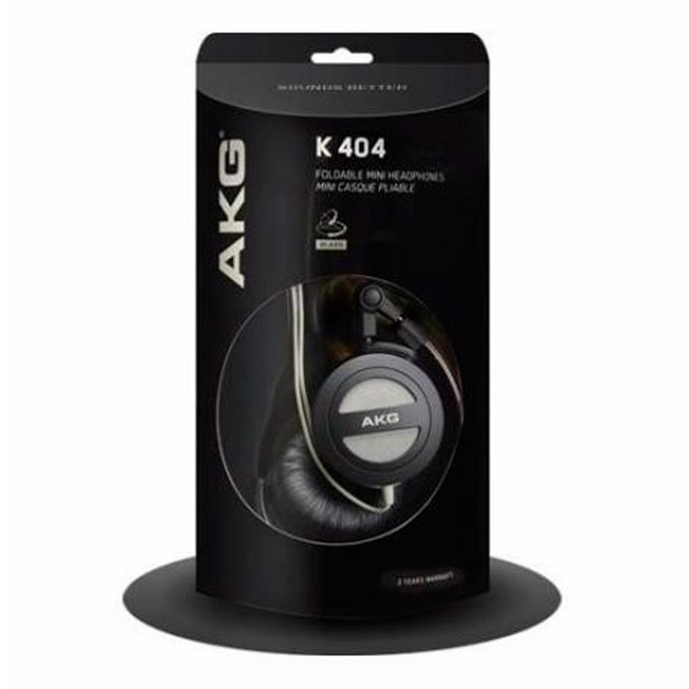 4446684ecc1 Fone de Ouvido AKG K404 Supra Auricular Preto - Harman Produto não  disponível
