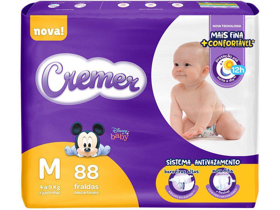 Imagem de Fralda Cremer Disney Baby Tam. M 4 a 9kg