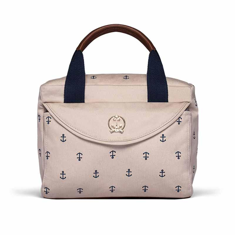 339d34bc0 Frasqueira Maternidade Térmica Classic For Baby Navy Queenstown Sarja -  Caqui - Classic for baby bags - Frasqueira Maternidade - Magazine Luiza
