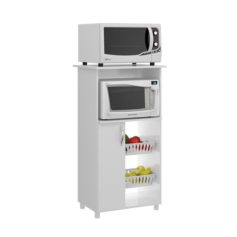 Fruteira com espa o para forno micro soluzione - Mesa para microondas ...