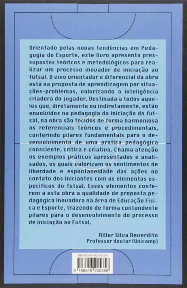 037a43f0517d9 Futsal e A Pedagogia da Iniciação - Paco - Livros de Educação ...