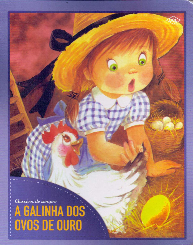 A Galinha Dos Ovo De Ouro Para Colorir galinha dos ovos de ouro, a (dcl)