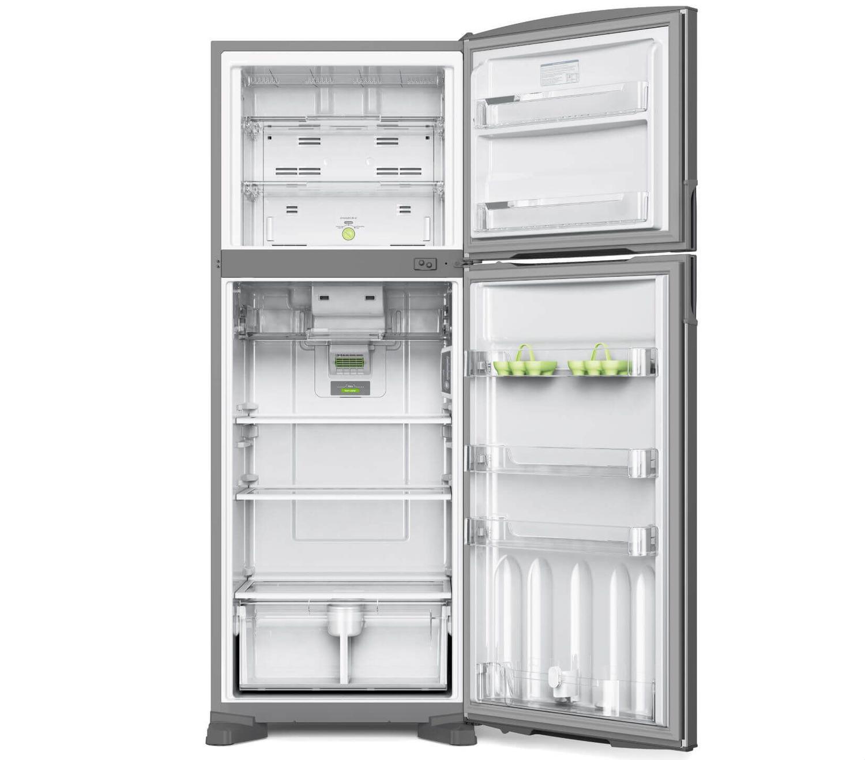 70356f362 Geladeira Consul Frost Free Duplex 441 litros Inox com Filtro Bem Estar R   2.879
