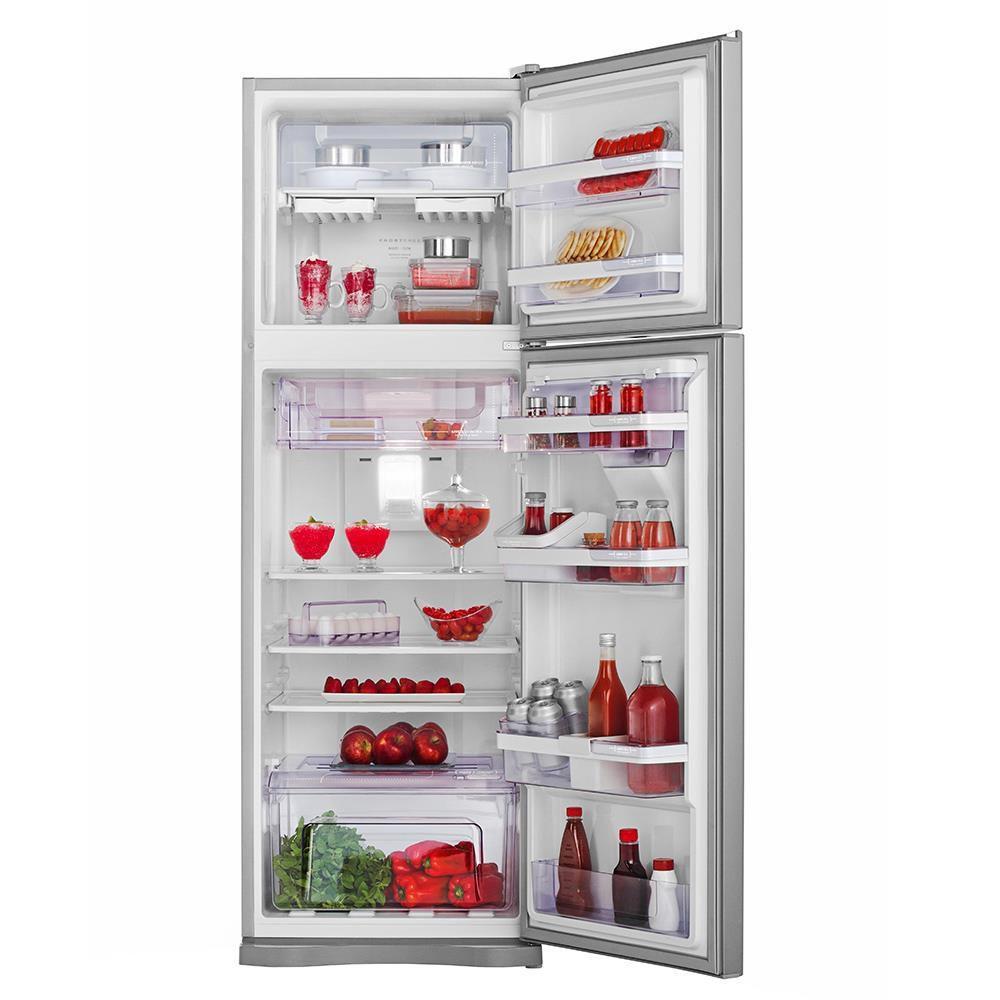 e50d01efb Geladeira Refrigerador Electrolux Frost Free 2 Portas DW42X 380 Litros Inox  220V R  2.749