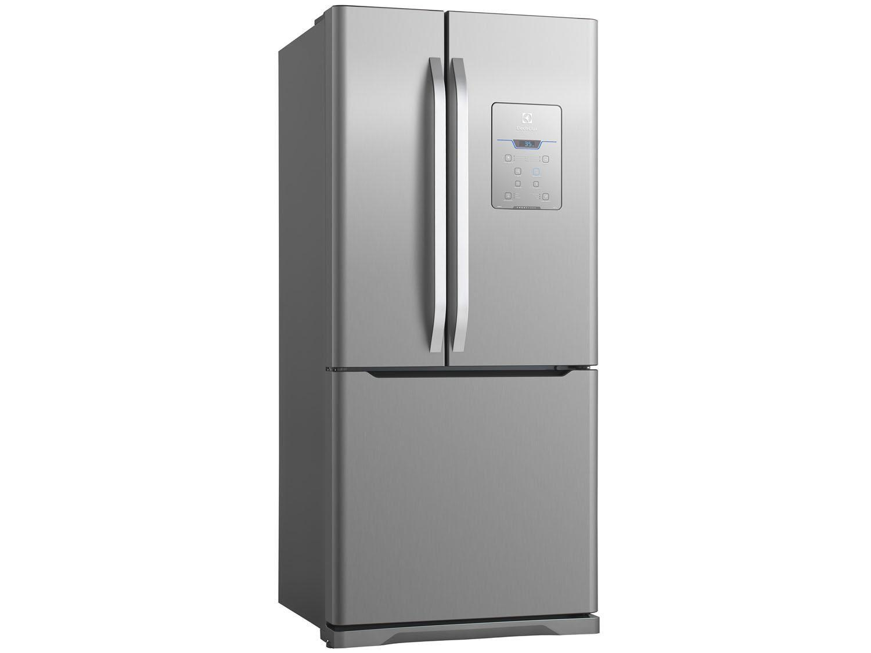 Geladeira refrigerador electrolux frost free inox 579l for Geladeira 2 portas inox