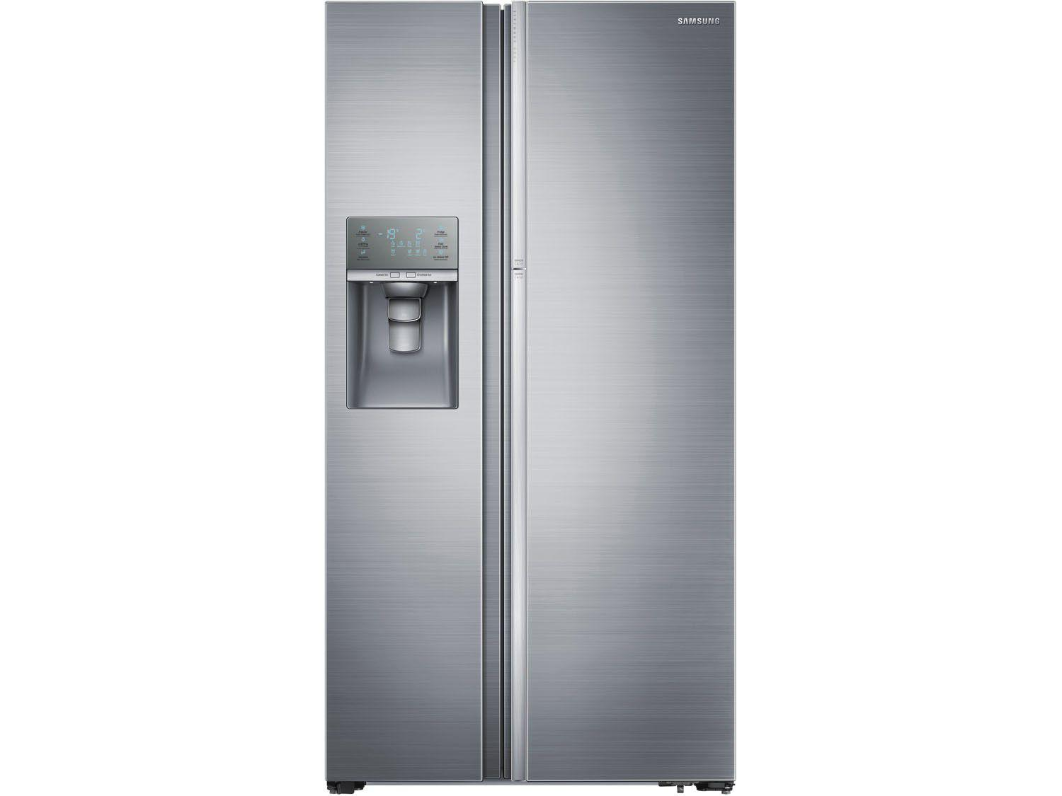 geladeira refrigerador samsung inox side by side 765l dispenser de gua food showcase. Black Bedroom Furniture Sets. Home Design Ideas