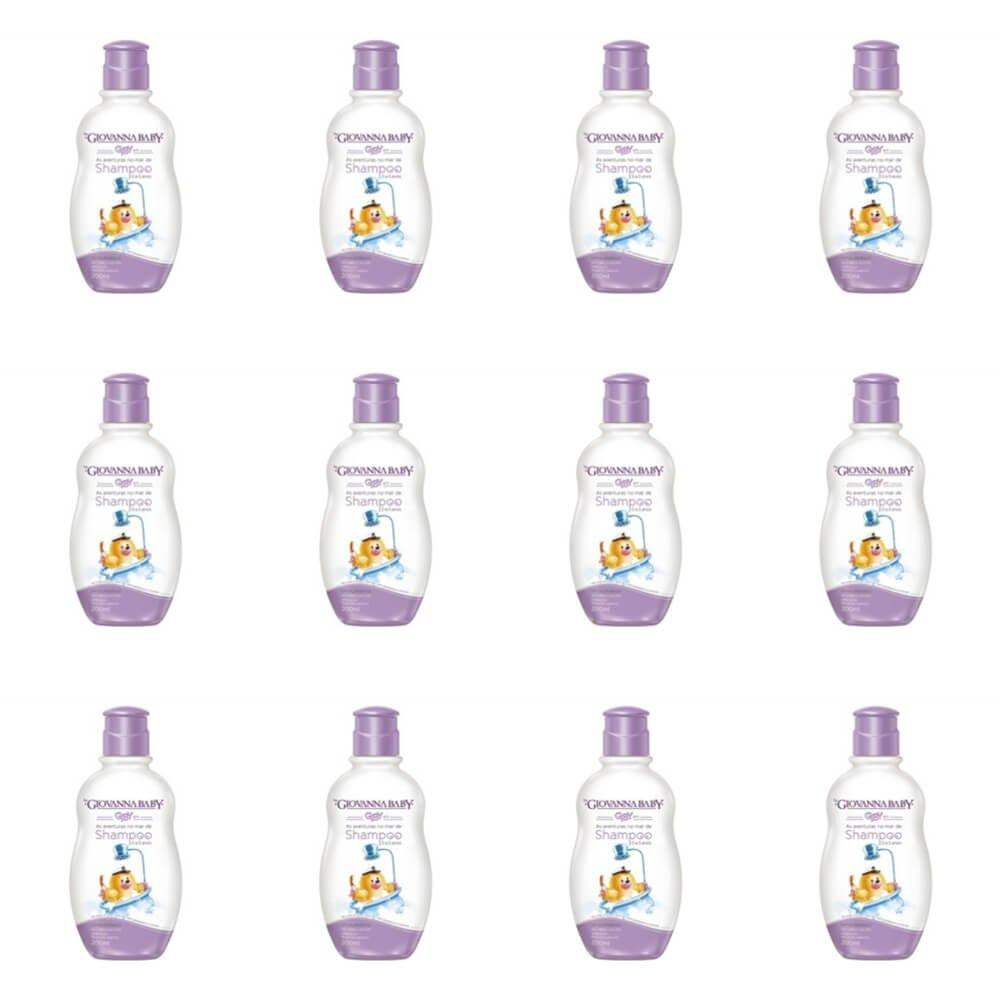 Giovanna Baby Giby Shampoo Infantil 200ml (Kit C/12)