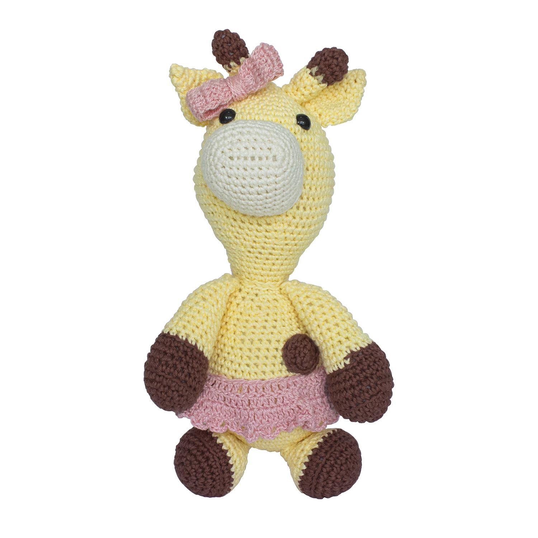 Girafa Colorida Amigurumis Fofis (0106) no Elo7 | Ateliê Fofis ... | 1500x1500