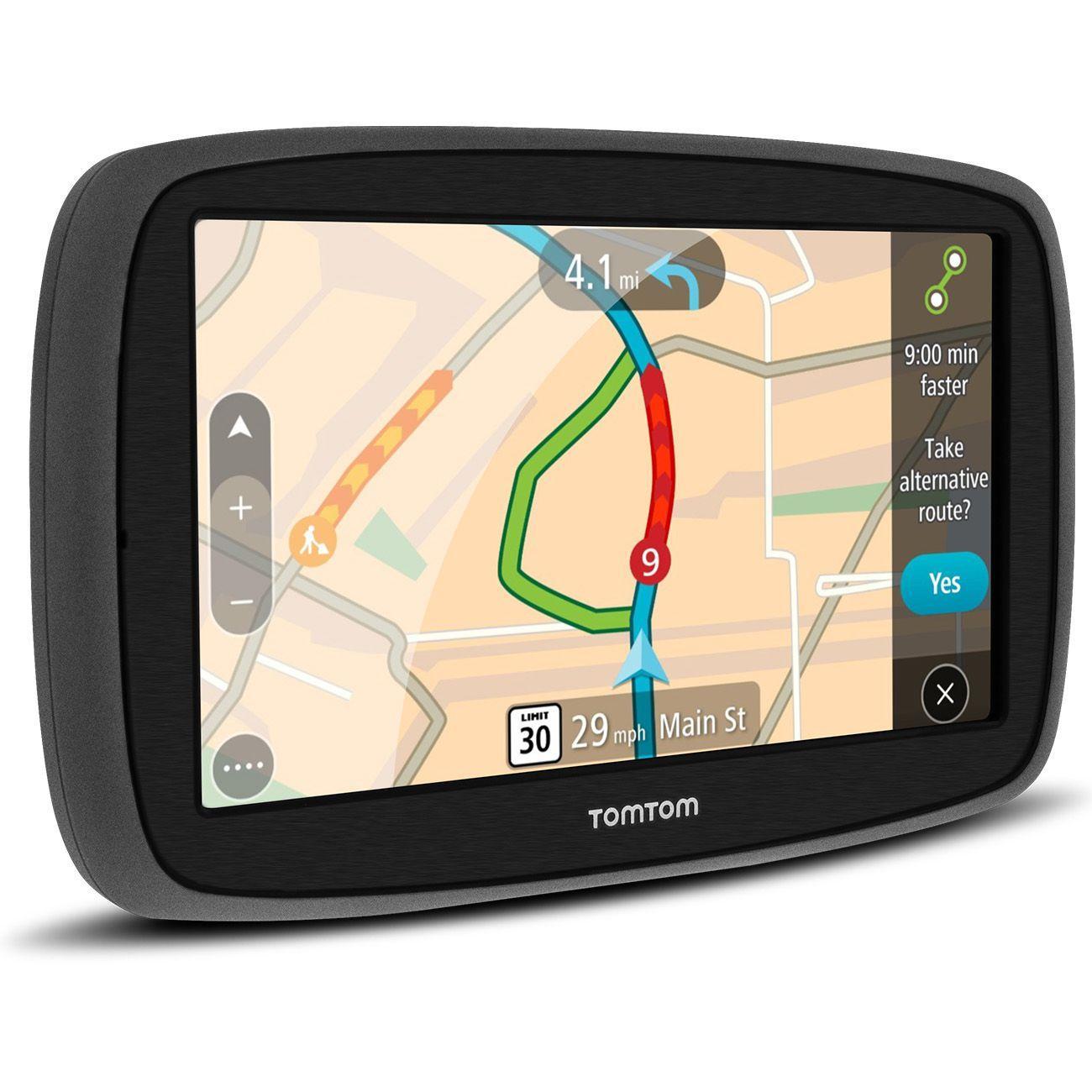 GPS Auto TomTom GO 60B 6,0 Pol Alerta Radar e