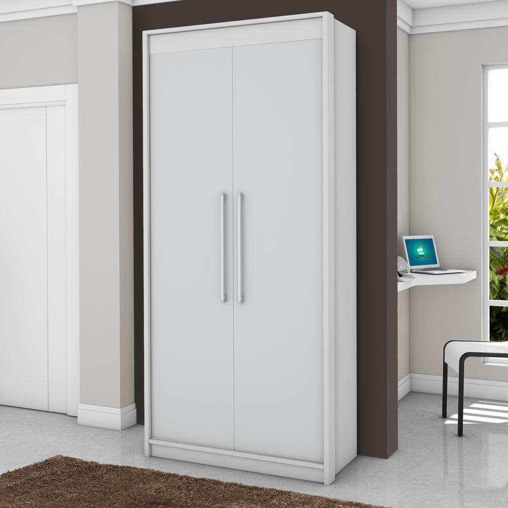 55588d2a1 Guarda-roupa 2 Portas Vegas Branco - Fama móveis Produto não disponível