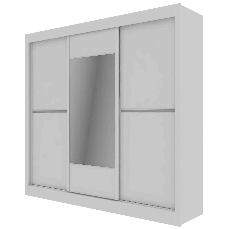 Guarda Roupa Casal com Espelho 3 Portas Ipê Móveis Europa Branco Acetinado   Nogueira  Branco Acetinado Produto não disponível 211c7a7018
