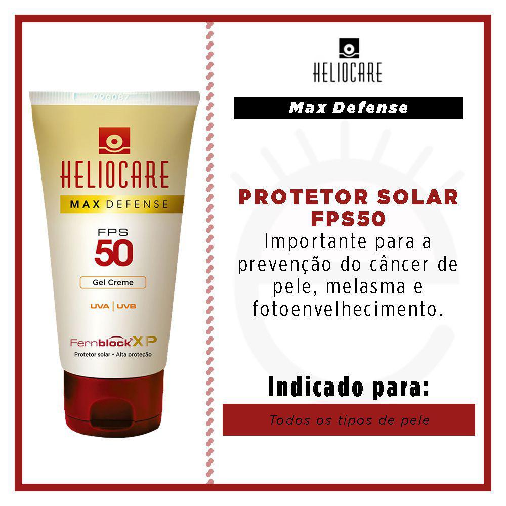 Heliocare Max Defense Fps 50 Gel 50ml - Farma 22