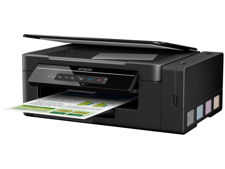 Impressora Multifuncional Epson Ecotank L396 Tanque De Tinta Wi Fi Toner 126a Cmyk Hp Laserjet Color 2
