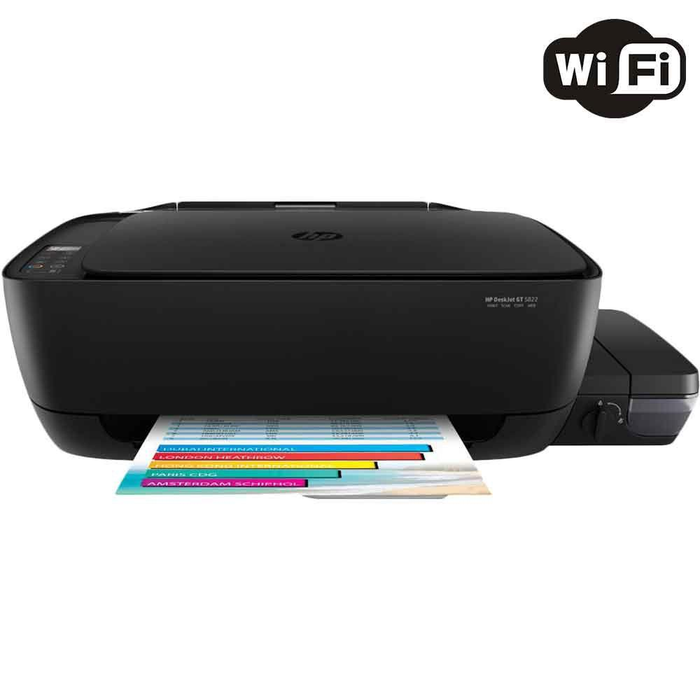 Impressora Multifuncional Hp Deskjet Gt 5822 Tanque De Tinta Toner 126a Cmyk Laserjet Color Colorida Wireless Bivolt R 71900 Vista Adicionar Sacola