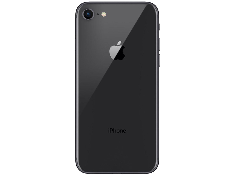 "79fc667675f iPhone 8 Apple 64GB Cinza Espacial 4G Tela 4,7"" - Retina Câm. 12MP + Selfie  7MP iOS 11 R$ 3.999,00 à vista. Adicionar à sacola"