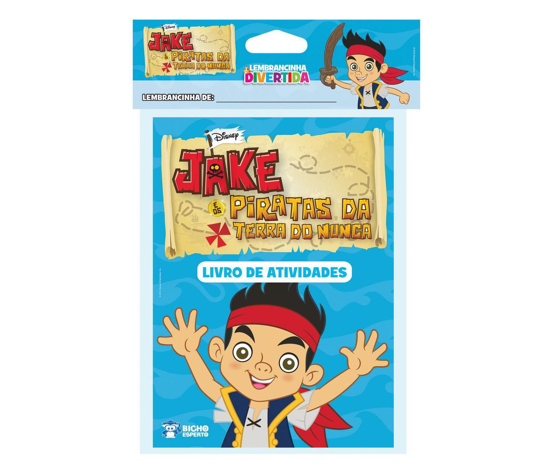 Jake E Os Piratas Da Terra Do Nunca Lembrancinha Divertida