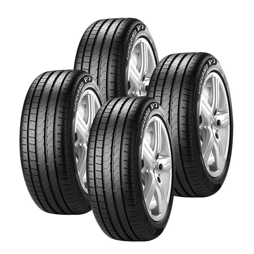 jogo 4 pneus aro 17 pirelli p7 cinturato 215 50r17 91v pneu para carro magazine luiza. Black Bedroom Furniture Sets. Home Design Ideas