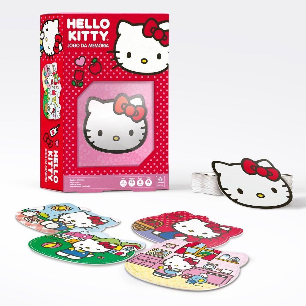 Jogo Da Memoria Hello Kitty Copag Jogos De Memoria E Conhecimento Magazine Luiza
