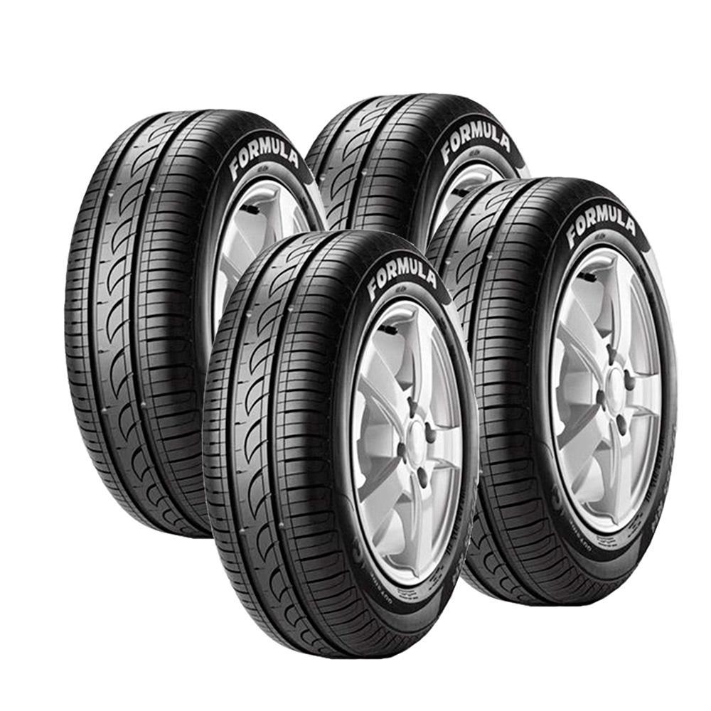 jogo de 4 pneus aro 14 pirelli f rmula energy 175 65r14. Black Bedroom Furniture Sets. Home Design Ideas