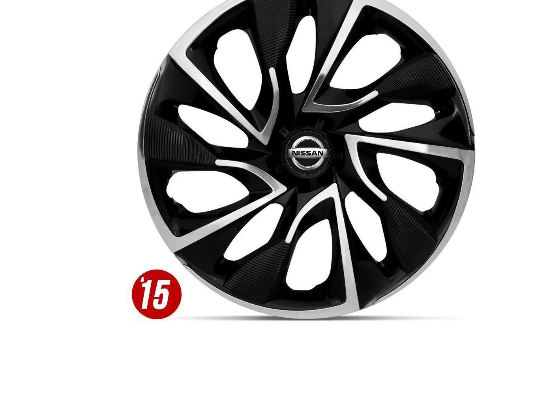 Jogo De Calota Aro 15 Ds4 Black Chrome Nissan Sentra Versa Tiid Elite Calota Para Carro Magazine Luiza