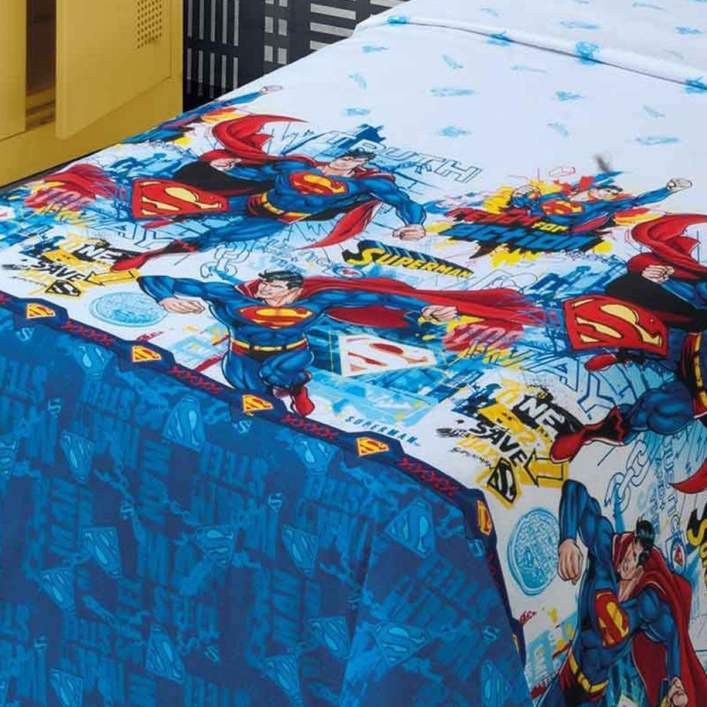 9c689c991 Jogo de Cama Dohler Superman Super Homem Solteiro 3 Peças R$ 164,90 à  vista. Adicionar à sacola